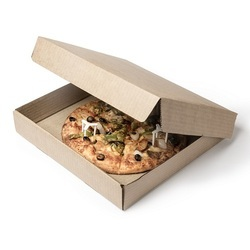 63K Kraft 10 Inch Corrugated Pizza Box