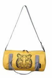 黄色涤纶运动包,49cm X 23cm X 23cm