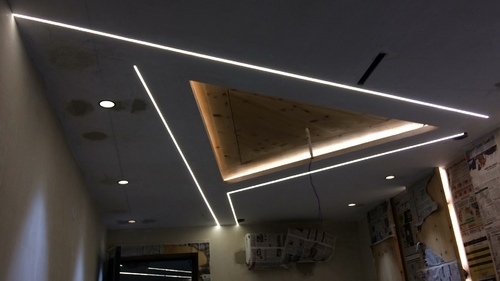 Led Linear Profile Lights Designing Installation Light Emitting Diode Linear Lamp एलईड ल न यर ल प Jubilance Electrical Private Limited New Delhi Id 20284381997