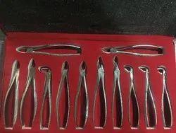 Dental  extraction forceps kit