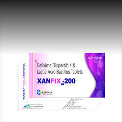 Cefixime 200mg with Lactic Acid Bacillus 2.5 billion spores