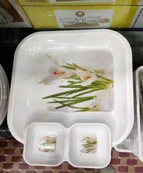 Glass Ware Plate