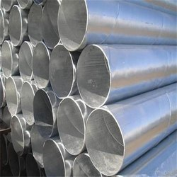 Round Galvanized Iron Pipes