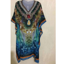 Rayon Digital Printed Kaftan