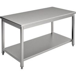 Stainless Steel Silver SS Table
