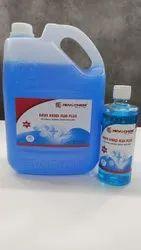 Hand Sanitizer 70% Isopropyl Alcohol Liquid Based Rinse-free Germ Protection Palm Handrub