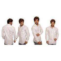 Cotton Mens Printed Plain Shirt