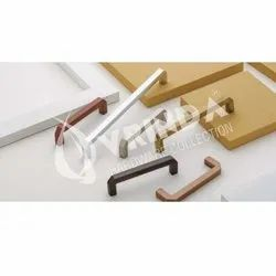 108 Slopy Square D SS Cabinet Handle