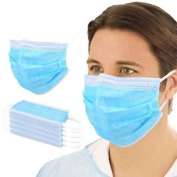 General Purpose Ear Loop 3 Layer Face Mask for Surgical