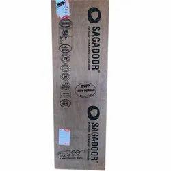 Sagaply Brown Plywood Flush Door, Size/Dimension: 7x3 Feet
