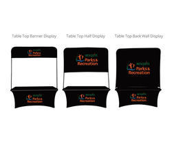 Table Top Backwall Display