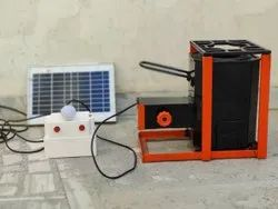 ESB-RBSD02A Smokeless Domestic Wood Stove With Solar Panel