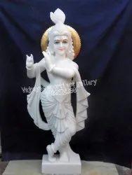 White Marble Krishna Idols