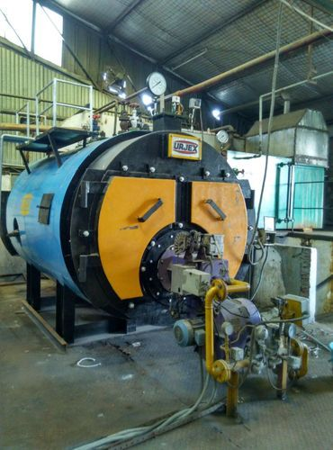 Wet Back Design Gas Fired Boiler