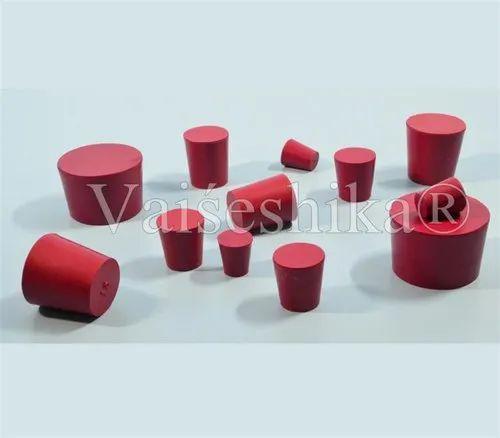 Red colour cork stopper