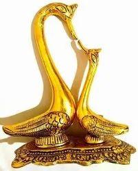 Golden Handmade Home Decor Item, for Gift