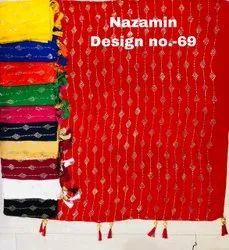 Nazamin Foil Print Dupatta