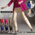 Female Regular Fit Taffeta Silk Pant