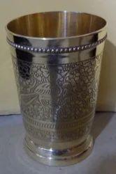 BRASS GLASS, Size: 4.25