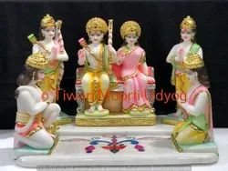 Ram Darbar Statue In Golden Plated Color