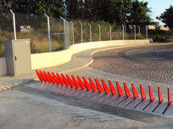 Color Coated Road Spike Barriers