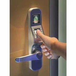 Lever Digital Door Lock, For Home, Offices, Biometric