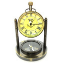 Antique Brass Table Watch