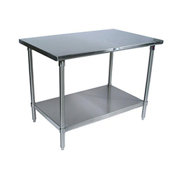 Kitchen Concepts Silver SS Kitchen Work Table