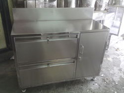 Silver TGPE Stainless Steel Table