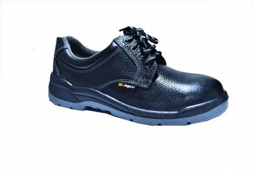 Men Black Jaguar Derby Shoes, Size: 4