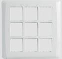White 18m Cover Frame