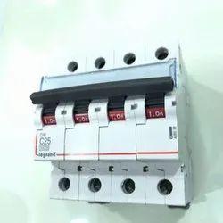 Legrand DX3 C25 4 Pole MCB