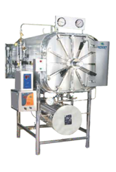 Horizontal Rectangular Autoclave Semi Automatic