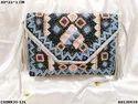 Designer Canvas Banjara Bag With Leather Belt
