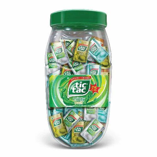 Tic Tac Minty Jar at Rs 200 /jar of 40 packs   Hadapsar   Pune   ID ...