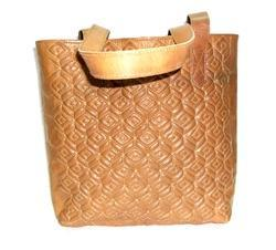 Real Leather Designer Tote Bag
