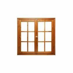 Modern Wooden Window, Shape: Rectangle