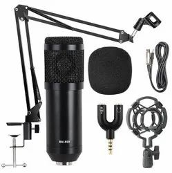 BM 800 Condenser Microphone Set Black