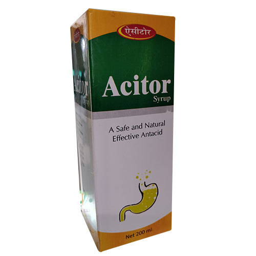 Acitor Syrup, Packaging Type: Box