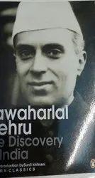 English Discovery of India Book, Jawaharlal Nehru