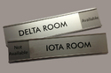 SS Engraving Name Plate