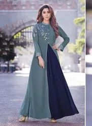 Lowest Prices Casual Wear Georgette Gown