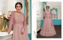 Tremendous Georgette Embroidered Anarkali Salwar Kameez