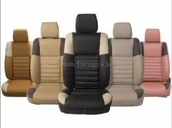 Black Leather Car Seat Cover
