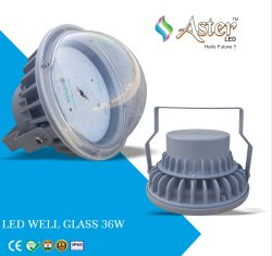 36W LED Well Glass Light