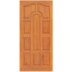 Solid Panel Teak Door
