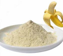 Hsdl Fresh pale white Freeze dried Banana Powder, Pouch