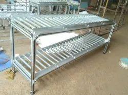 Warehouse Gravity Roller Conveyor