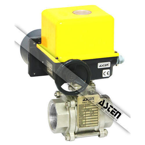 Electrical Actuator Operated Ball Valve