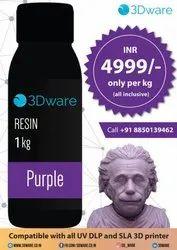Resin For 3D Printer/ Affordable Resin For CAM, Pack Type: Bottle